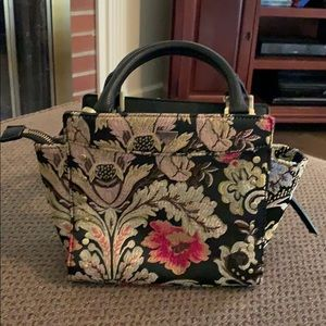 Sam Edelman floral paisley crossbody purse